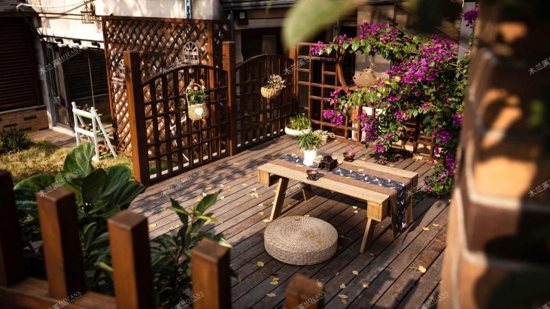 湖南防腐木庭院告诉您:4种现代庭院设计