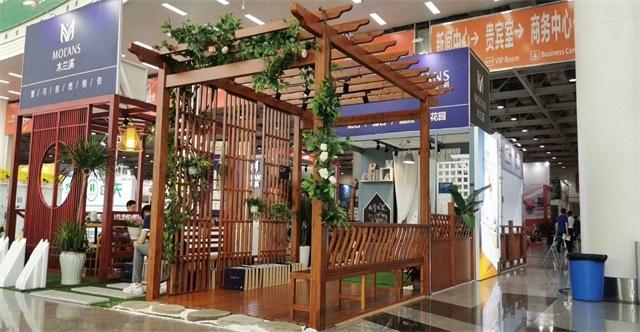 上海湖南防腐木廊架